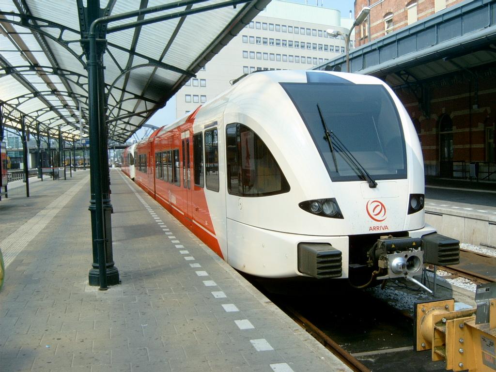 trein naar Denemarken